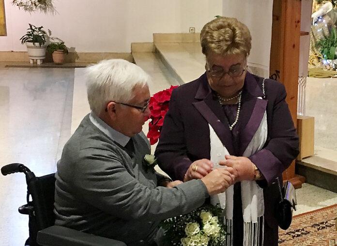 Bodas de Oro Matrimoniales de Jacinto y Antonia