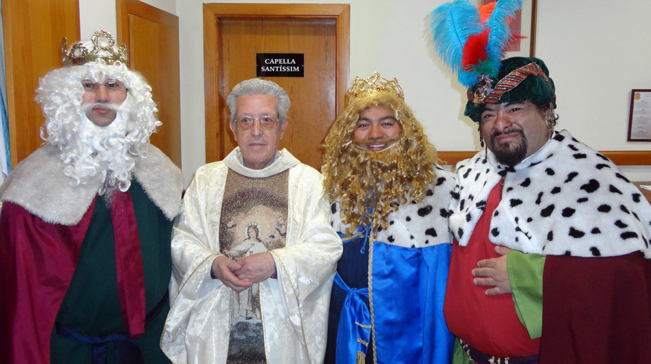 Los reyes Magos en la Parroquia La Merce