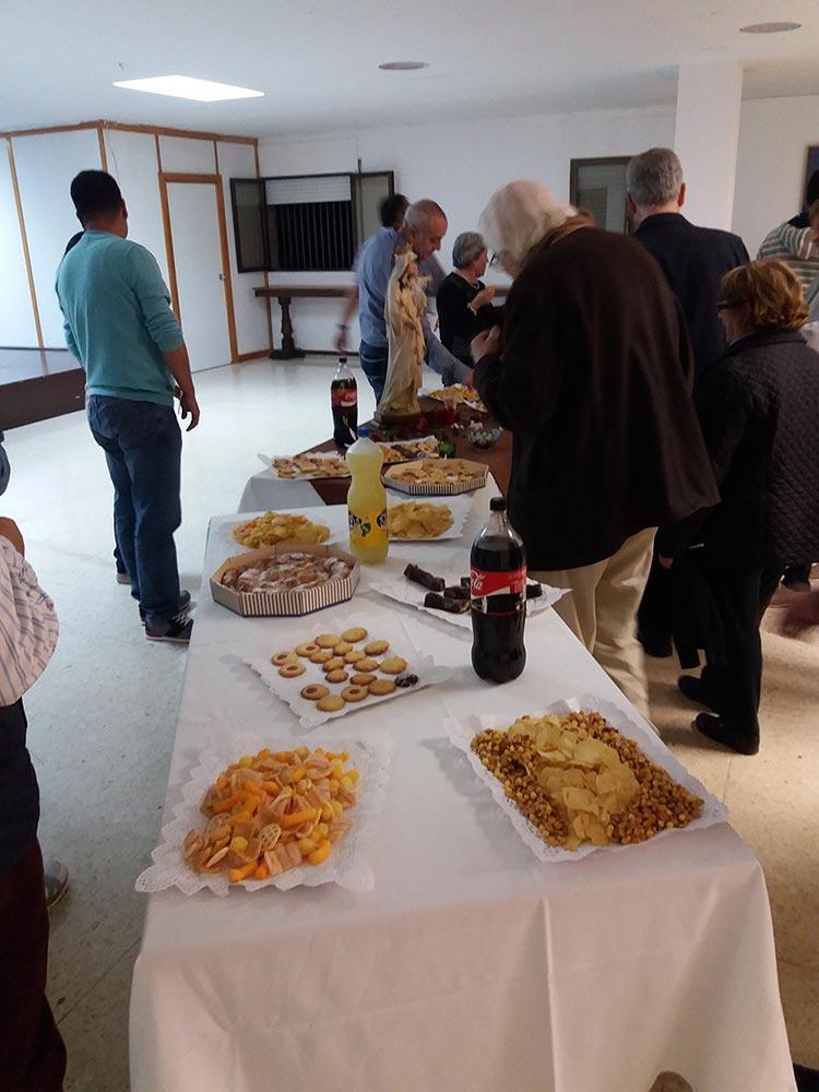 Este fue un buen momento de compartir entre los feligreses mercedarios de Lleida.