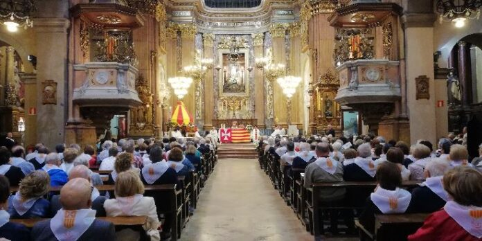 El Encuentro de Seglares se efectuó en la Basílica de la Merced, en Barcelona.