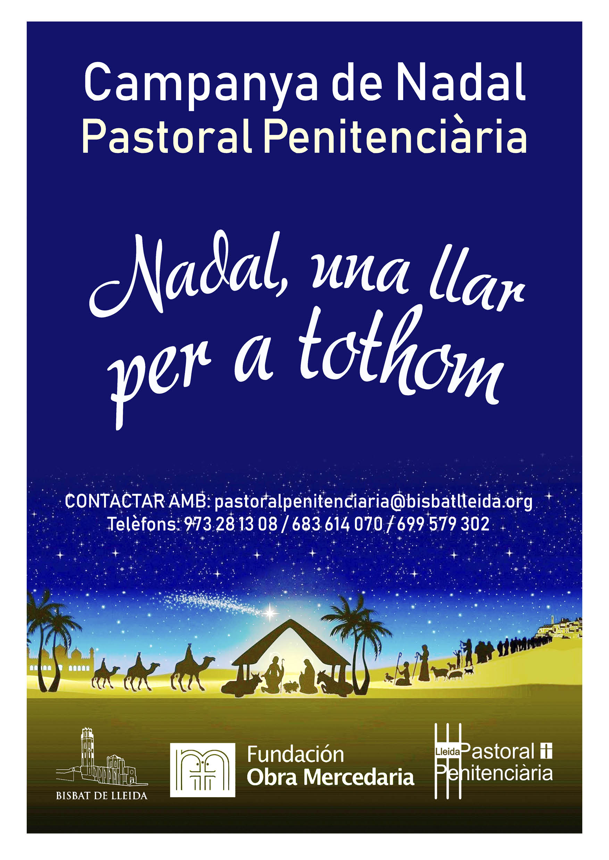 Campanya de Nadal 2018 Pastoral penitenciaria Lleida